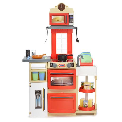 Little Tikes Cook 39 N Store Kitchen Red Top Deals Online